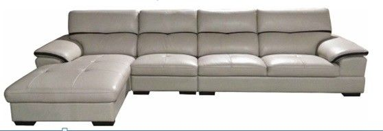 Easy Maintain Living Spaces Leather Sofa 1055X1840X925 Mm Size Lying Bed