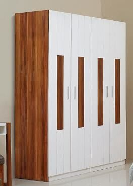 Beautiful And Generous Full Bedroom Furniture Sets Four Door Wardrobe