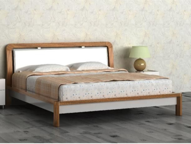 Particle Board Home Room Furniture Melamine Modern Simple Bedroom Set Double Bed