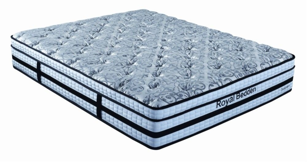 5 - Zone Duo Pocket Spring Foam Mattress Lasted Rust Protection A - Grade Spring Coil