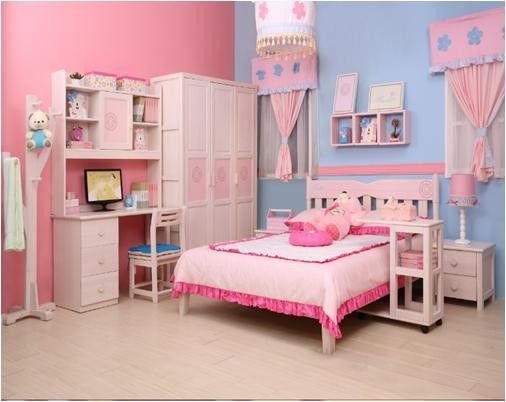 MDF Single Bed Home Room Furniture / Fashion Simple Bedroom Sets