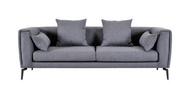 Modular Design Grey Fabric Sofa , Healthy Living Room Couch Set Long Life